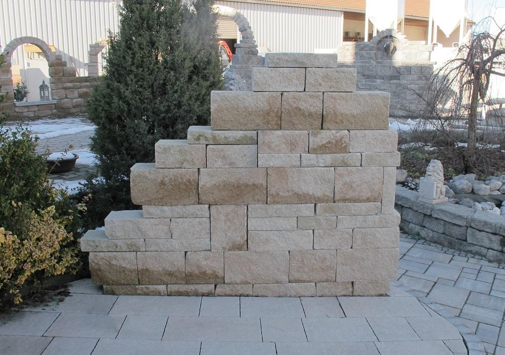 mauersteine beton – mischungsverhältnis zement, Gartenarbeit ideen